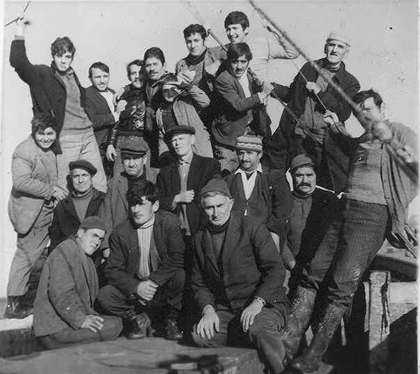 Amasralı balıkçılar